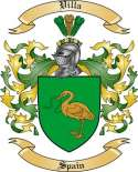 Villa Family Crest from Spain