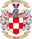 Villafane Family Crest from Spain