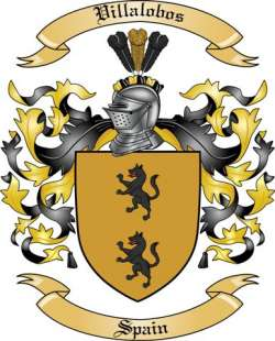 Villalobos Family Coat of Arms from Spain