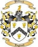 Villiard Family Coat of Arms from England