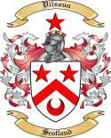 Vilsoun Family Coat of Arms from Scotland