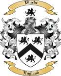 Vinche Family Crest from England
