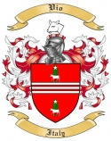 Vio Family Crest from Italy
