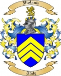 Violante Family Crest from Italy