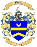 Visco Family Coat of Arms from Italy