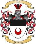 Vit Family Crest from Germany
