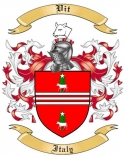 Vit Family Crest from Italy