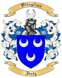Vitaglino Family Crest from Italy