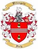 Vitangelo Family Coat of Arms from Italy