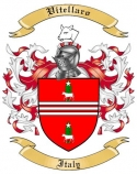 Vitellaro Family Crest from Italy