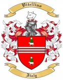 Vitellino Family Coat of Arms from Italy