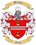 Vitillo Family Coat of Arms from Italy