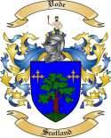 Vode Family Coat of Arms from Scotland