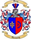 Voeg Family Coat of Arms from Germany