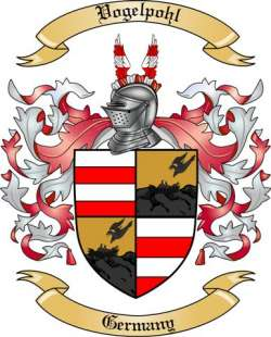 Vogelpohl Family Coat of Arms from Germany