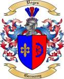 Voges Family Coat of Arms from Germany