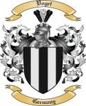 Voget Family Crest from Germany