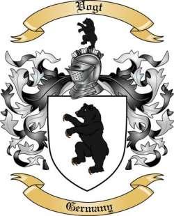 Vogt Family Crest