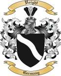 Voight Family Crest from Germany2
