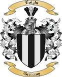 Voight Family Crest from Germany