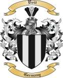 Voit Family Crest from Germany