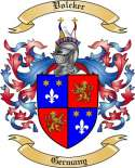 Volcker Family Coat of Arms from Germany