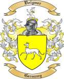 Volgmer Family Coat of Arms from Germany