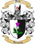 Volk Family Coat of Arms from Germany