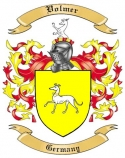 Volmer Family Coat of Arms from Germany