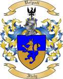 Volpati Family Crest from Italy