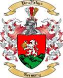 VonHelms Family Crest from Germany