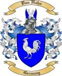 Von Hahn Family Crest from Germany2