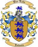 Von Lode Family Crest from Estonia