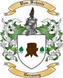 Von Scheele Family Coat of Arms from Germany