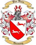 Von Voss Family Coat of Arms from Germany