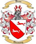 Voss Family Coat of Arms from Germany