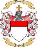 Vosser Family Crest from England