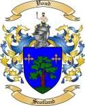 Voud Family Crest from Scotland