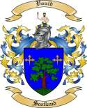 Vould Family Coat of Arms from Scotland