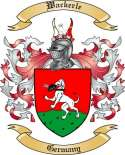 Wackerle Family Coat of Arms from Germany