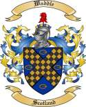 Waddle Family Coat of Arms from Scotland
