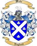 Wade Family Coat of Arms from England