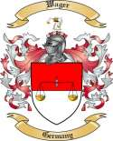 Wager Family Crest from Germany