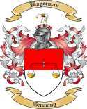 Wagerman Family Crest from Germany