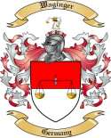 Waginger Family Coat of Arms from Germany