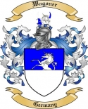 Wagoner Family Crest from Germany