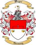 Wagor Family Crest from Germany