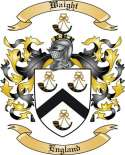 Waight Family Crest from England