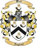 Wait Family Coat of Arms from England