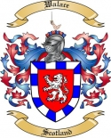 Walace Family Crest from Scotland2